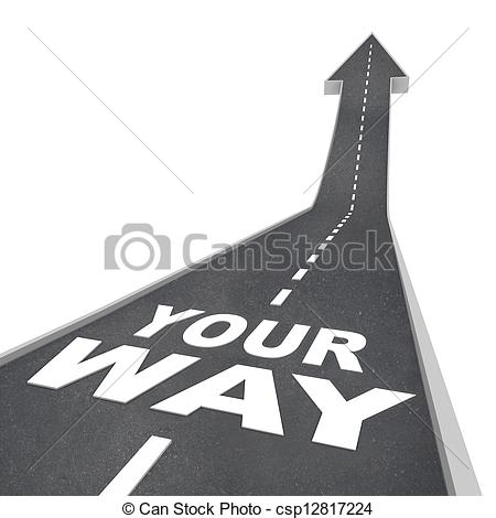 Clipart road with an arrow image free stock Pointing road arrow clipart - ClipartFox image free stock