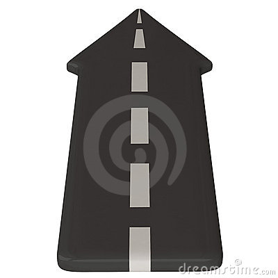 Clipart road with an arrow png freeuse library Clipart road with an arrow - ClipartFest png freeuse library