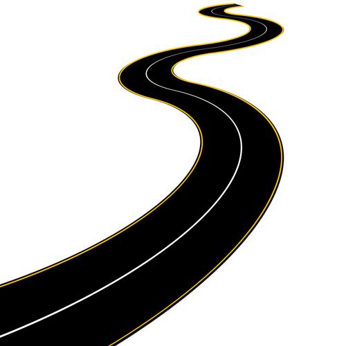 Winding road map clipart clipart Roadmap winding road clip art schliferaward - WikiClipArt clipart