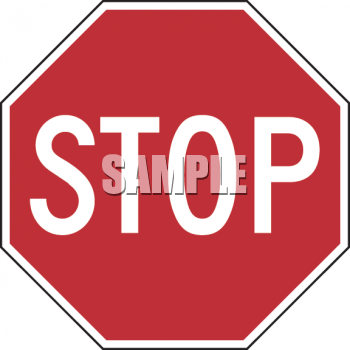 Clipart roadsign 18 clipart library library Road Sign-Stop Sign - Royalty Free Clip Art Illustration clipart library library