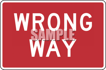 Clipart roadsign 18 png stock Road Sign-Wrong Way Sign - Royalty Free Clip Art Image png stock
