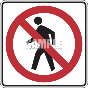 Clipart roadsign 18. Royalty free clip art