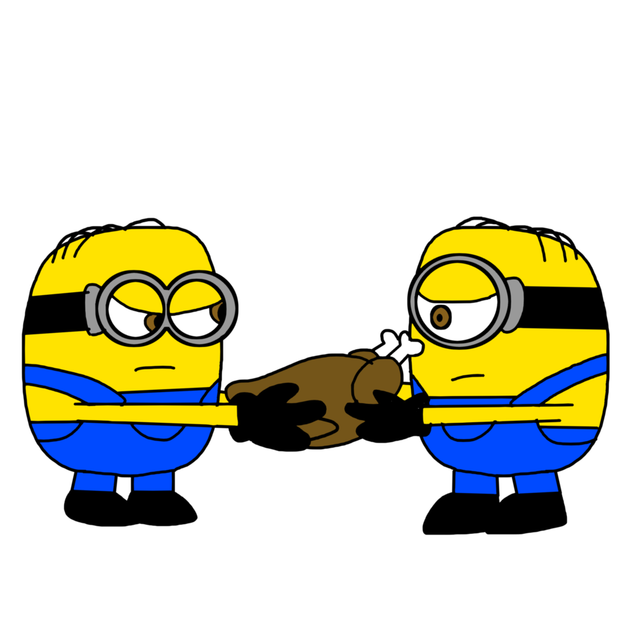 Stuart and Dave fights for Roasted Turkey by MarcosPower1996 on ... clip art transparent