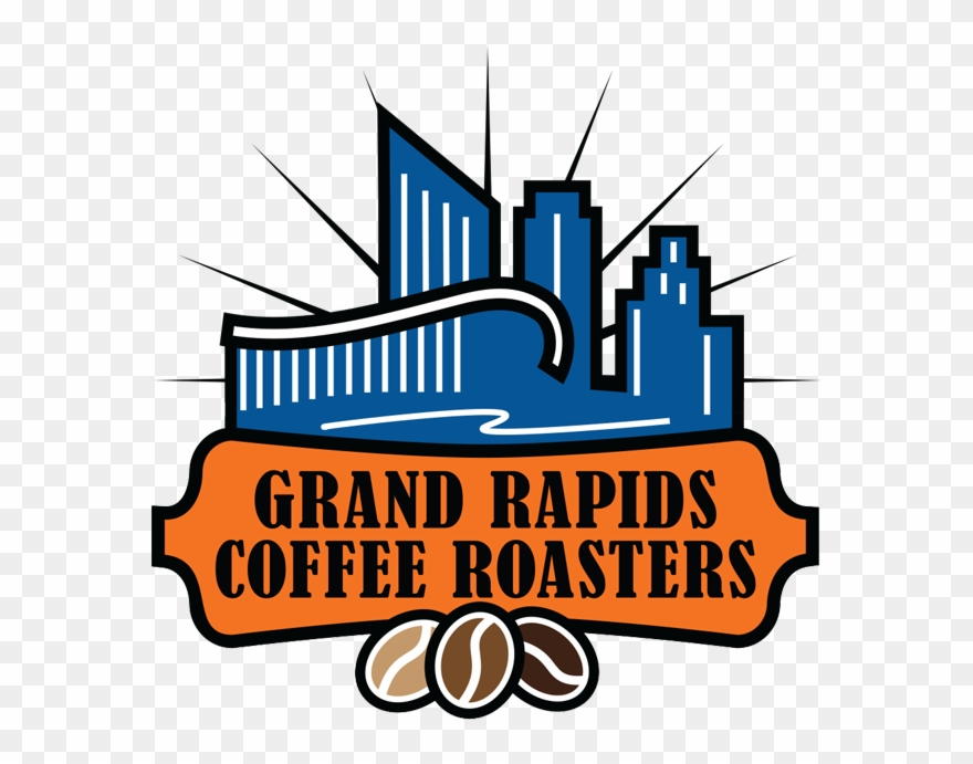Clipart roasters jpg black and white Grand Rapids Coffee Roasters - Graphic Design Clipart (#4887065 ... jpg black and white