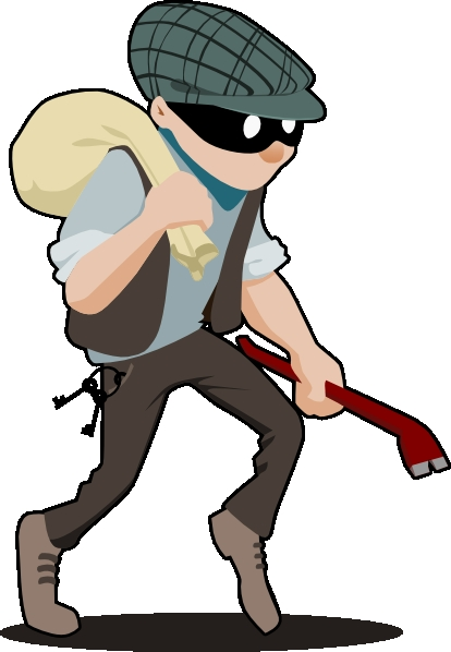 Clipart robber clipart transparent stock Robber Clip Art - ClipArt Gallery clipart transparent stock