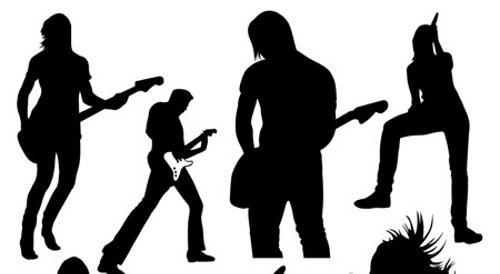 Rock band singer clipart png library download Rock band clip art co 3 image – Gclipart.com png library download