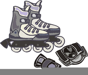 Clipart rollerblades vector royalty free Clipart Rollerblading | Free Images at Clker.com - vector clip art ... vector royalty free