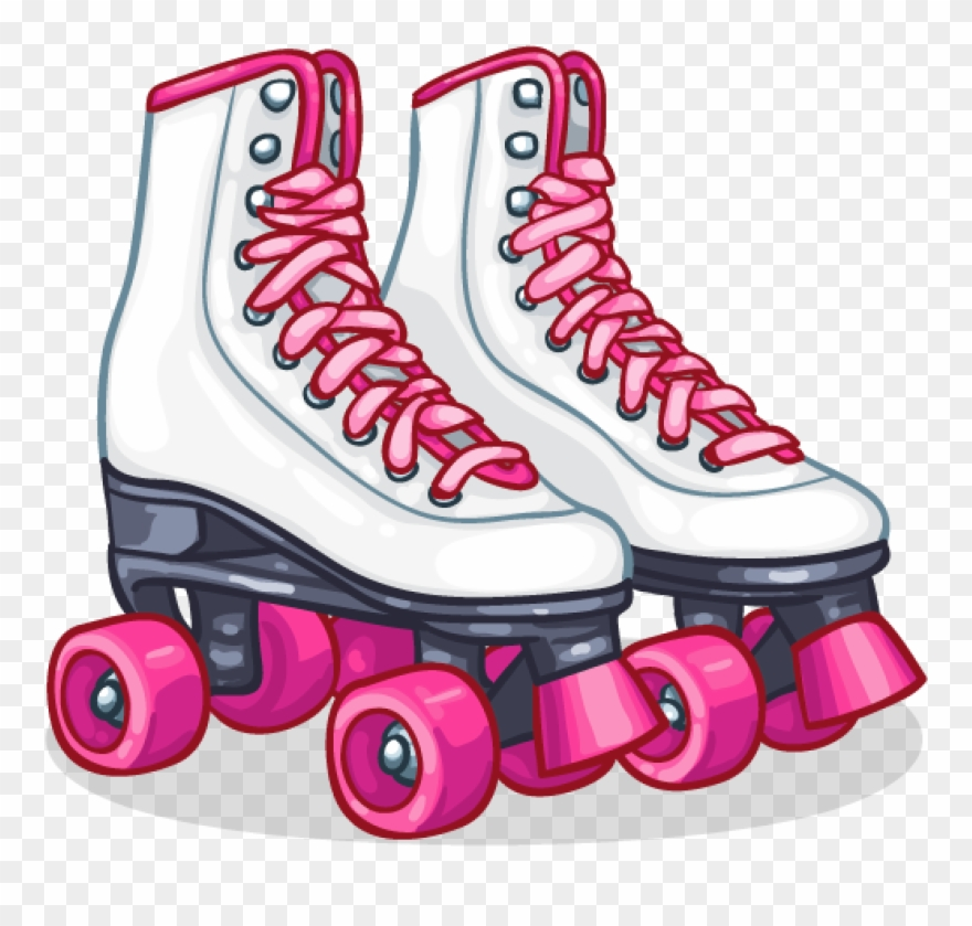 Roller skate clipart png clip art black and white stock Roller Skates Clipart - 50s Roller Skates Png Transparent Png ... clip art black and white stock