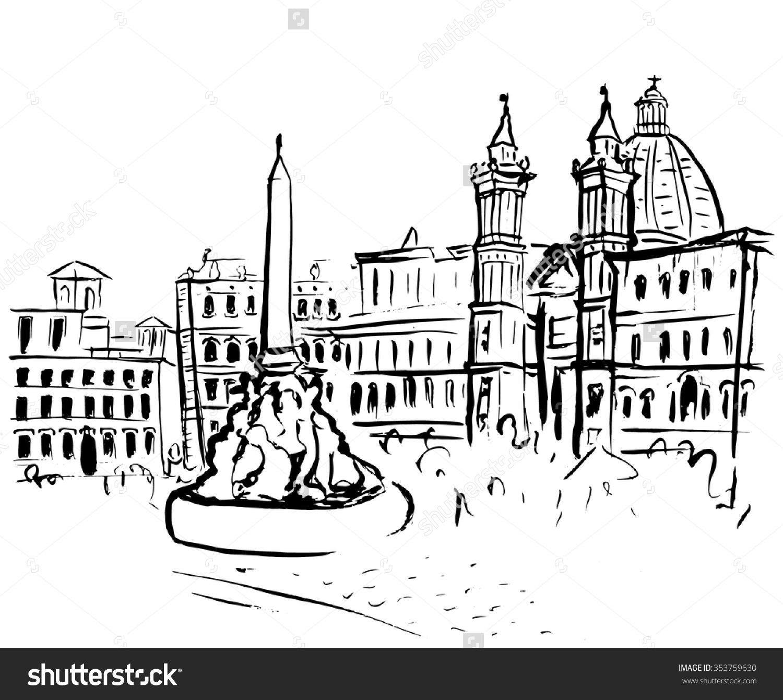 Clipart rome gratuit banner freeuse download Rome italy clipart - ClipartFox banner freeuse download