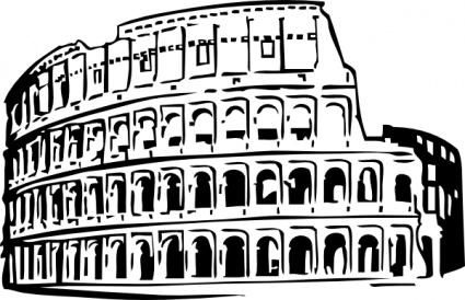 Clipart rome gratuit jpg freeuse download Colisée de Rome, fichier vectoriel - Clipart.me jpg freeuse download