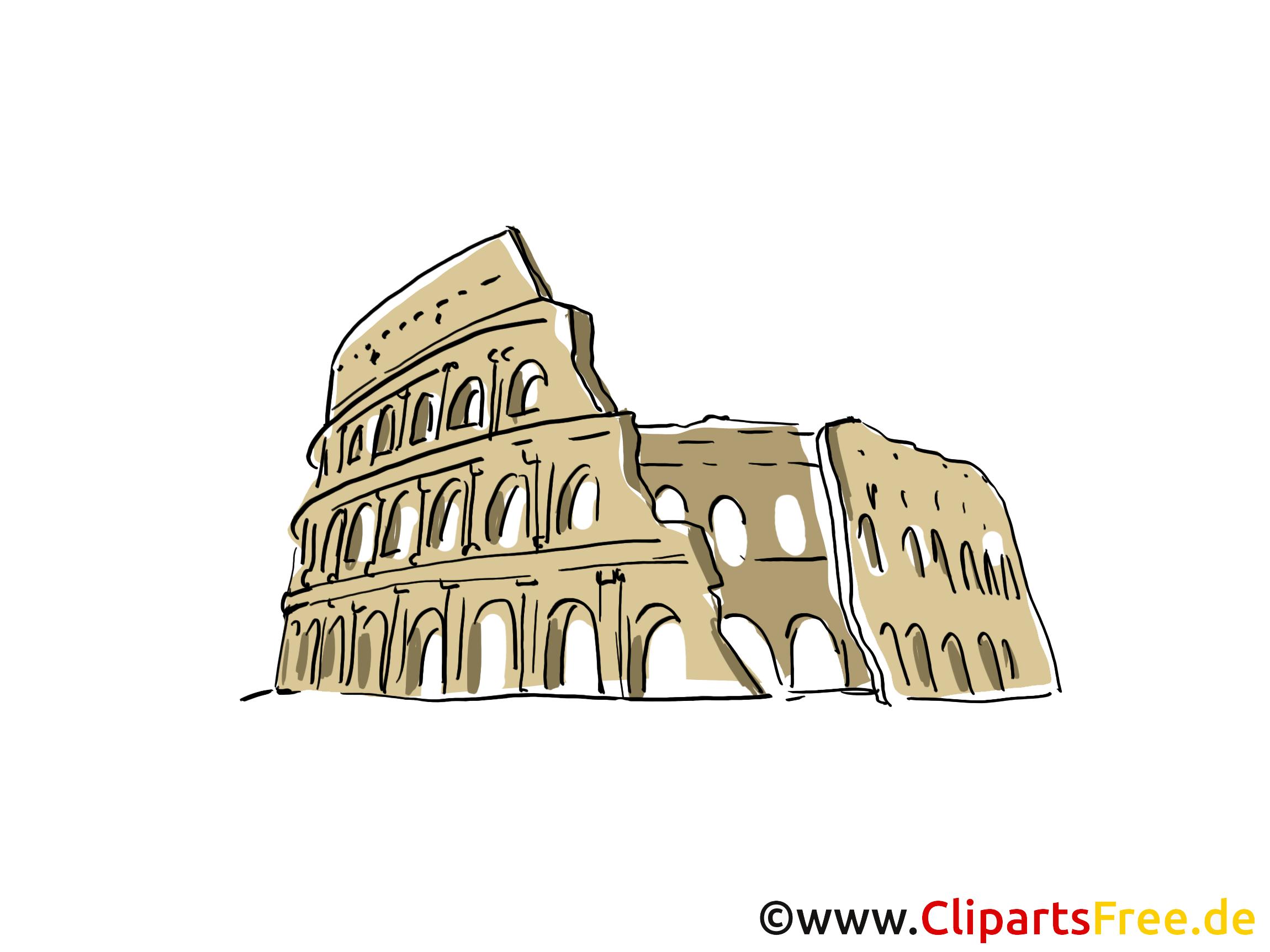Clipart rome gratuit clip royalty free library Rome illustration gratuite - Colisée clipart - Voyage dessin ... clip royalty free library