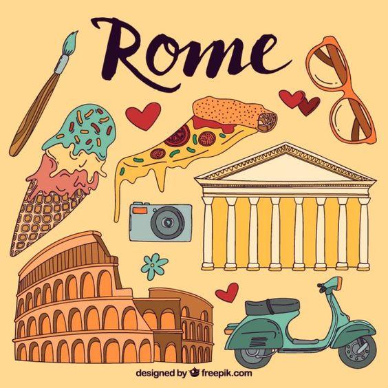 Clipart rome gratuit clip royalty free Rome éléments illustrés | Helmets, Adventure and Roman clip royalty free