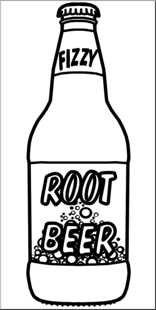 Clipart root beer banner freeuse download Clip Art: Root Beer B&W I abcteach.com | abcteach banner freeuse download