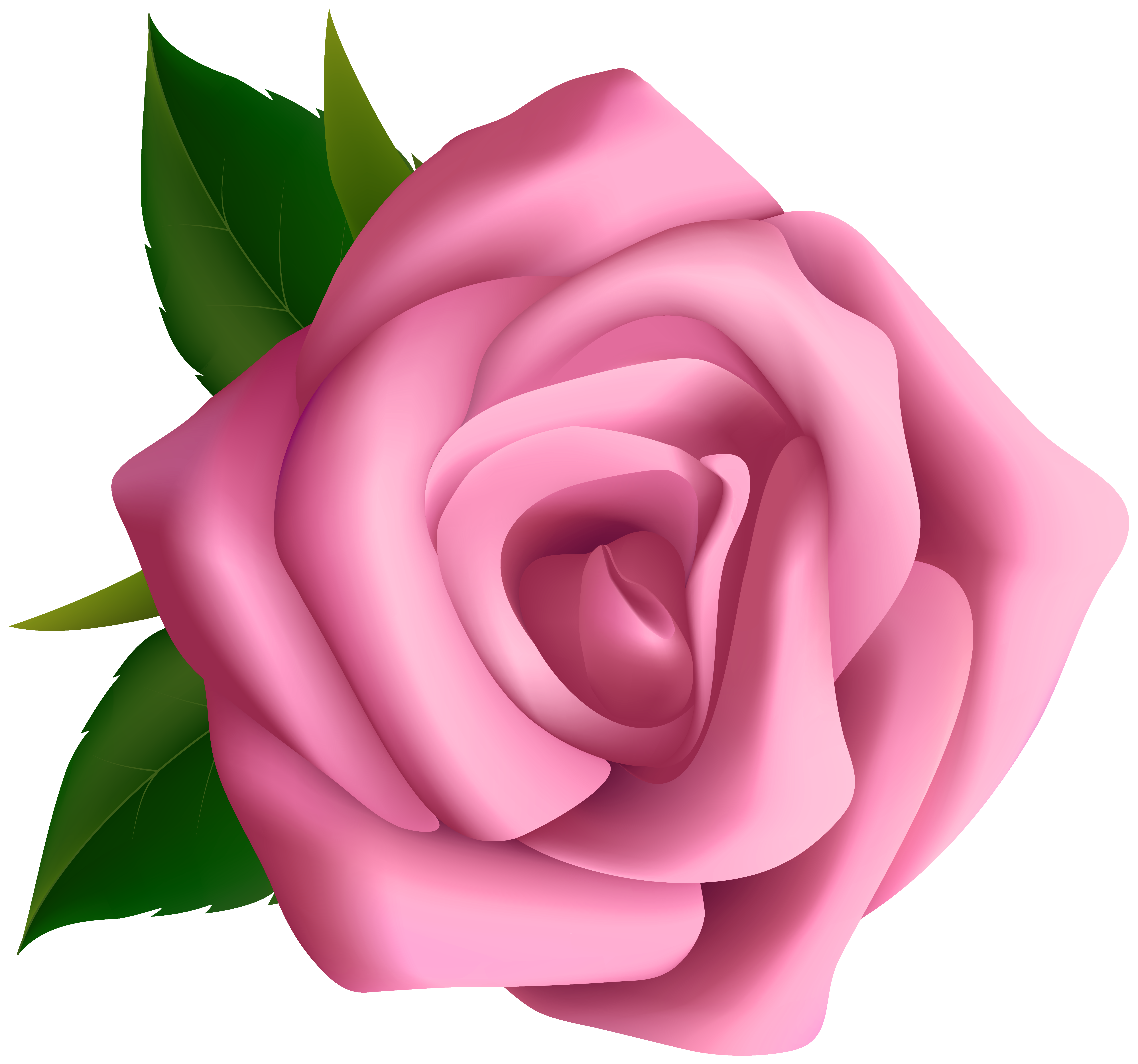 Soft Pink Rose Clipart PNG Image | Gallery Yopriceville - High ... banner freeuse library