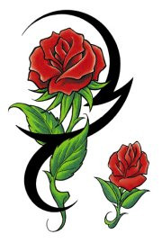 Tattoo best . Clipart rosen bilder