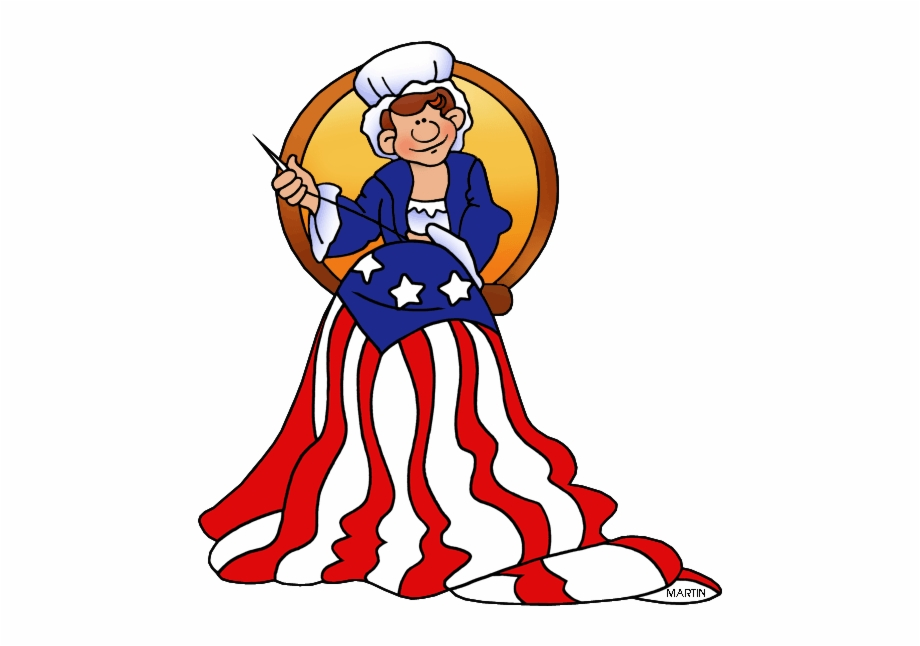 Betsy clipart clip art royalty free stock Betsy Ross Flag Clipart 4 By Michael - Flag Day Clipart Free PNG ... clip art royalty free stock