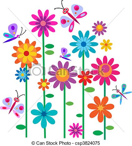 Flowers Stock Illustrations. 697,615 Flowers clip art images and ... graphic transparent