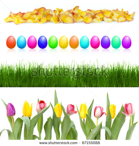 Row Of Flowers Clipart | Clipart Panda - Free Clipart Images banner freeuse download