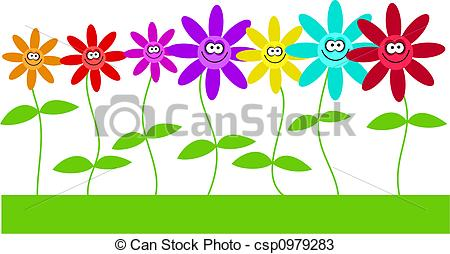 Happy flowers Illustrations and Stock Art. 84,212 Happy flowers ... clip royalty free library