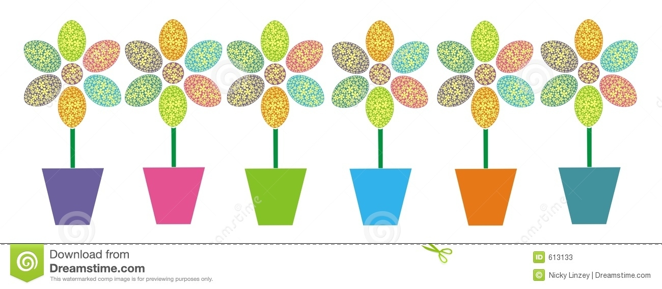 Row Of Flowers Clipart - clipartsgram.com clip art library download