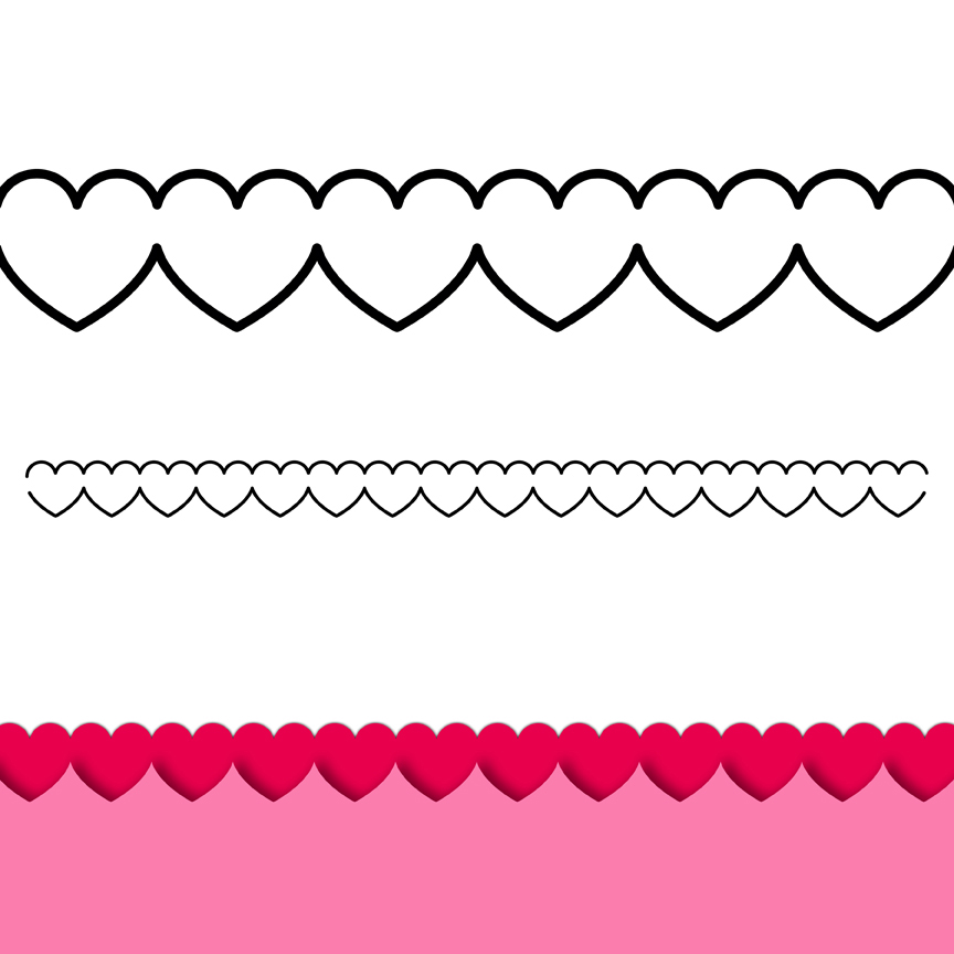 Clipart row of hearts clip art royalty free download Row of hearts clip art - ClipartFest clip art royalty free download