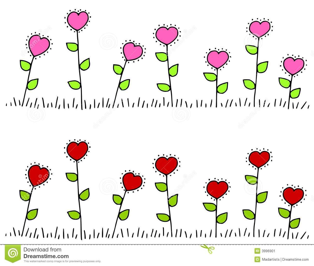 Clipart row of hearts clip royalty free stock Row of hearts clip art - ClipartFest clip royalty free stock