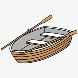 Clipart rowing boat image transparent download Row Boat Clipart - Boat Oars Black And White #363704 - Free Cliparts ... image transparent download