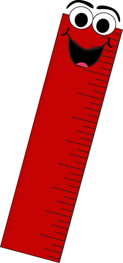 Ruler cartoon clipart png freeuse stock Red Cartoon Ruler Clip Art - Red Cartoon Ruler Vector Image | School ... png freeuse stock