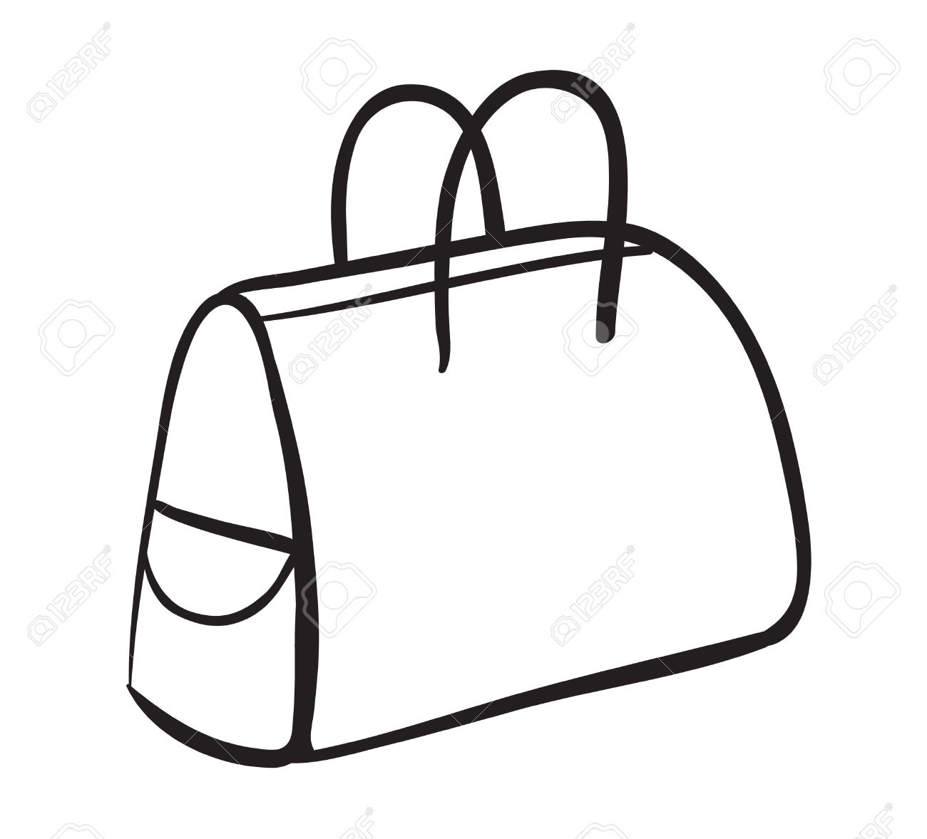 Clipart sac a main jpg royalty free stock Illustration D'un Sac à Main Sur Un Fond Blanc Clip Art Libres De ... jpg royalty free stock