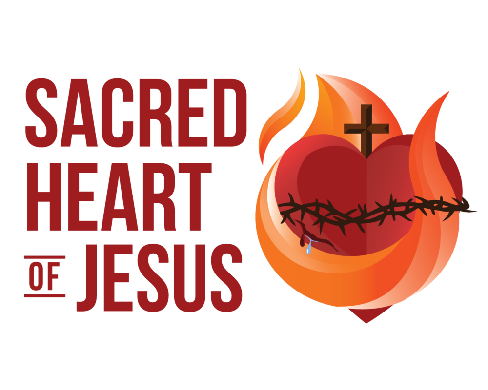 Sacred heart of jesus clipart banner black and white library Sacred Heart PNG Transparent Images, Pictures, Photos | PNG Arts banner black and white library