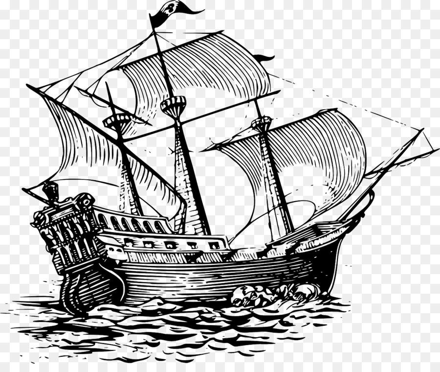 Clipart sailing ship jpg library stock Boat Cartoon clipart - Ship, Drawing, Illustration, transparent clip art jpg library stock