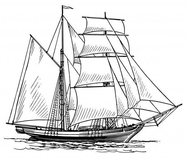 Clipart sailing ship clip art transparent Sailing Ship Clipart Illustration Free Stock Photo - Public Domain ... clip art transparent