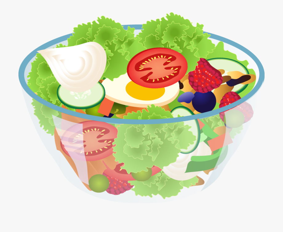 Soup & salad clipart image library download Salad Clipart Vegetable Clip Art - Salad Clipart Png #147473 - Free ... image library download