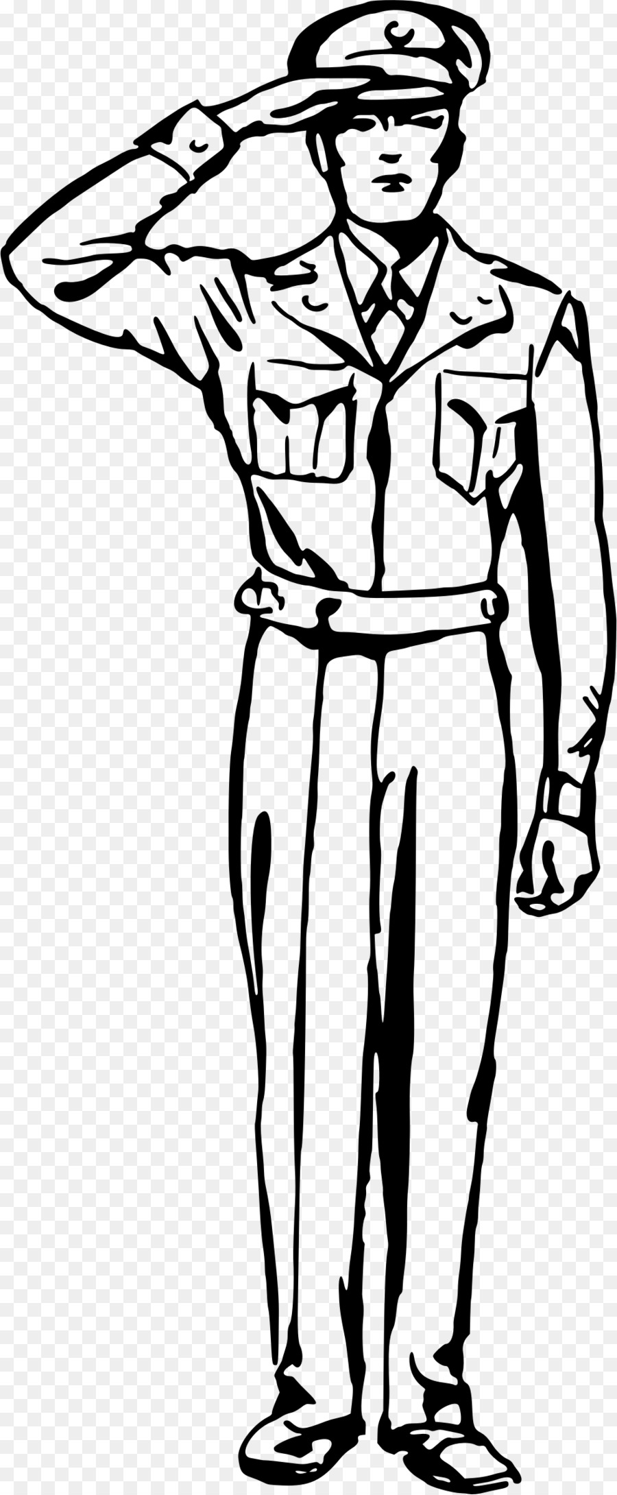 Clipart saluting clip transparent Man Cartoon clipart - Soldier, Drawing, Army, transparent clip art clip transparent