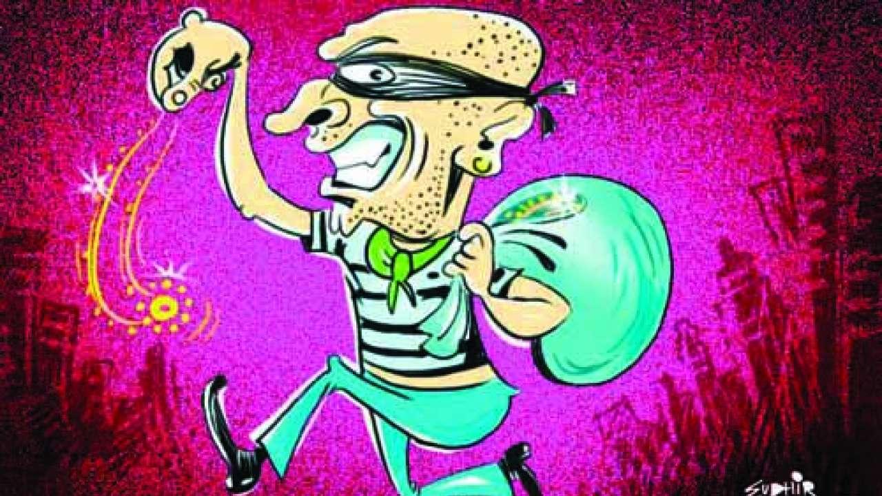 Clipart sangli gold rate vector freeuse Chain snatchers in Maharashtra are crorepati, err...arabpati! vector freeuse