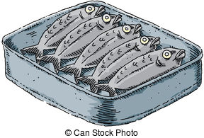 Clipart sardines vector freeuse download Sardine Illustrations and Clipart. 1,315 Sardine royalty free ... vector freeuse download