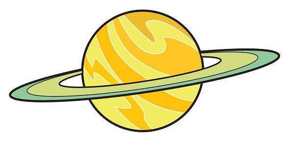 Clipart saturn clipart library stock Planet Saturn Cartoon premium clipart - ClipartLogo.com clipart library stock