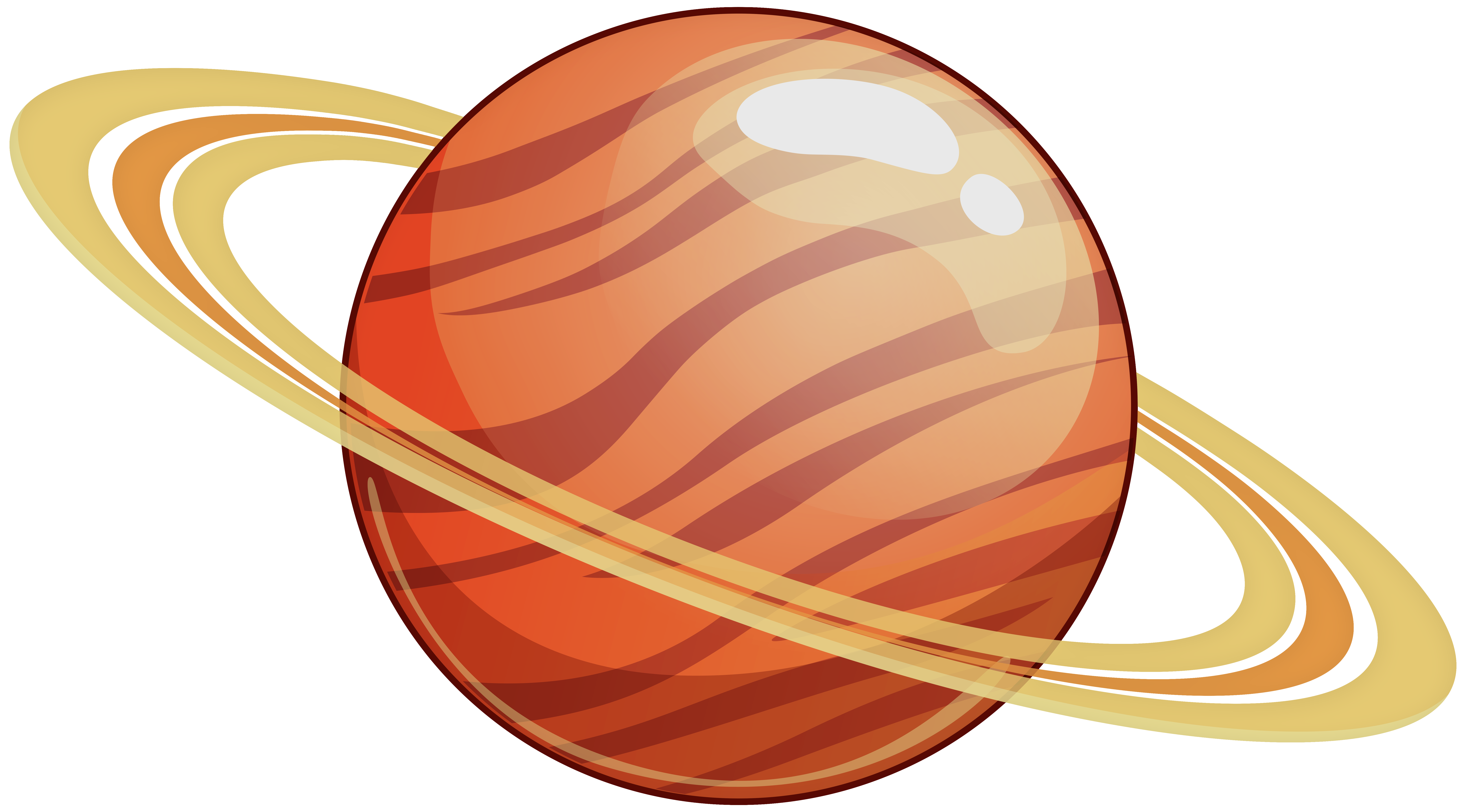 Clipart saturn svg royalty free library Saturn PNG Clip Art - Best WEB Clipart svg royalty free library