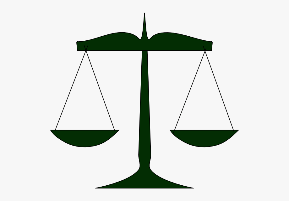 Tipping scale clipart black and white clipart free Scales Of Justice Green Clip Art At Clker - Scales Justice Clipart ... clipart free