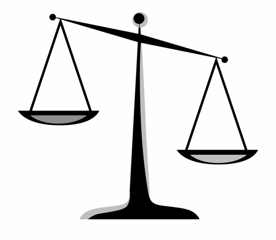 Justice clipart free png black and white stock Scales Of Justice Clip Art Free PNG Images & Clipart Download #22650 ... png black and white stock