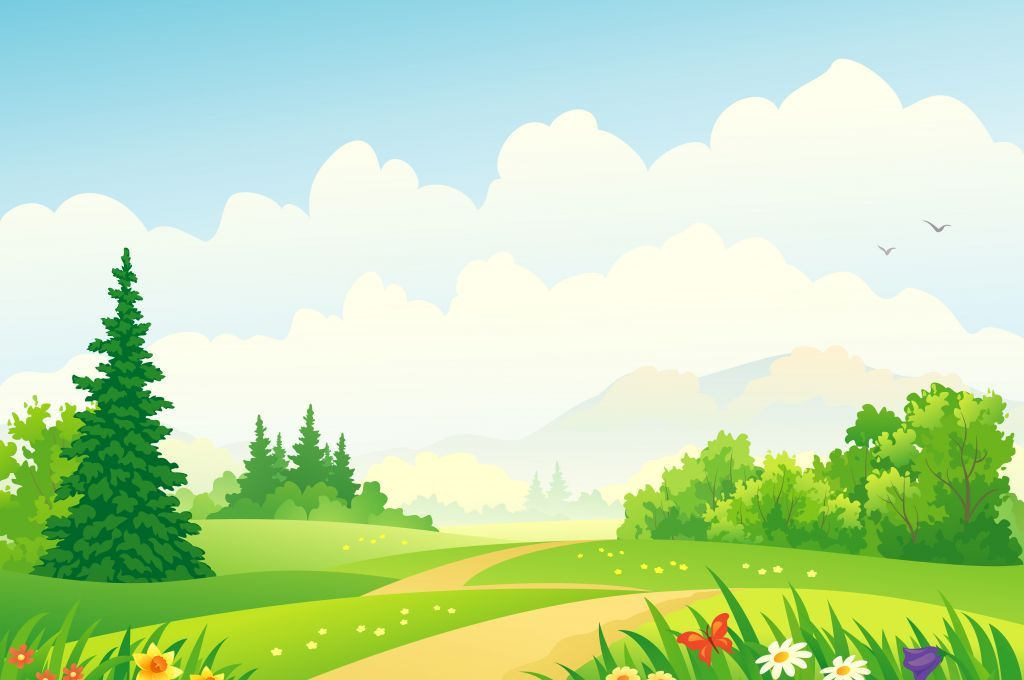 Clipart scenery backgrounds graphic royalty free download Cloudy day .................................... | Children´s ... graphic royalty free download