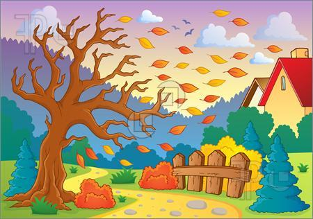 Clipart scenes clip art freeuse library Fall scenes clipart 1 » Clipart Portal clip art freeuse library