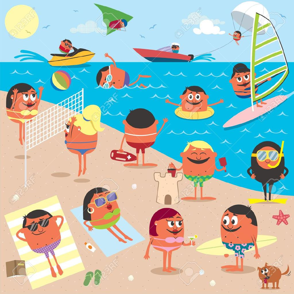 Clipart scenes graphic freeuse Free Beach Scenes Clipart Printable 1003 - Clipart1001 - Free Cliparts graphic freeuse