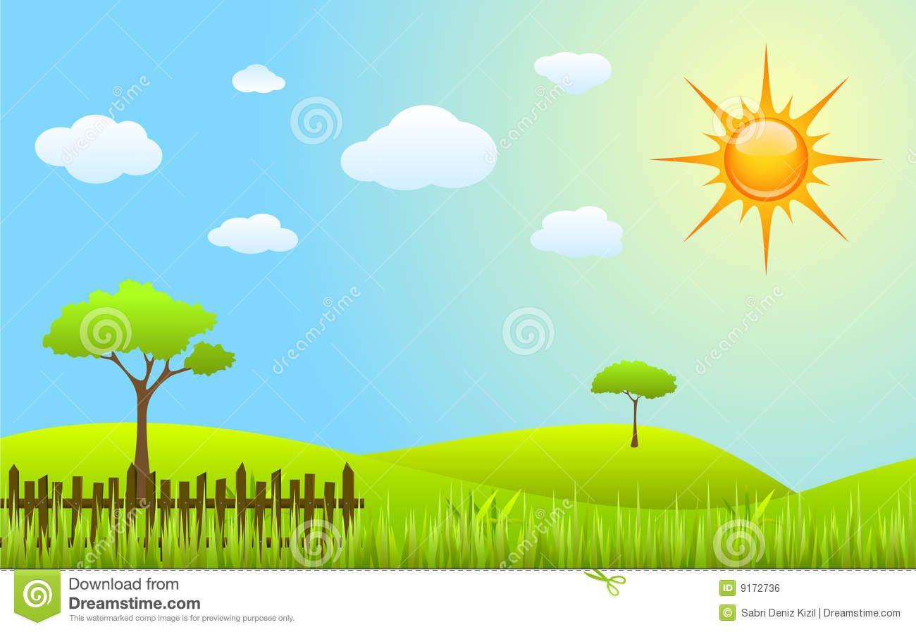 Clipart nature scenes jpg Spring Scenes Clipart - Clipart Kid | colorforms | Spring scene ... jpg