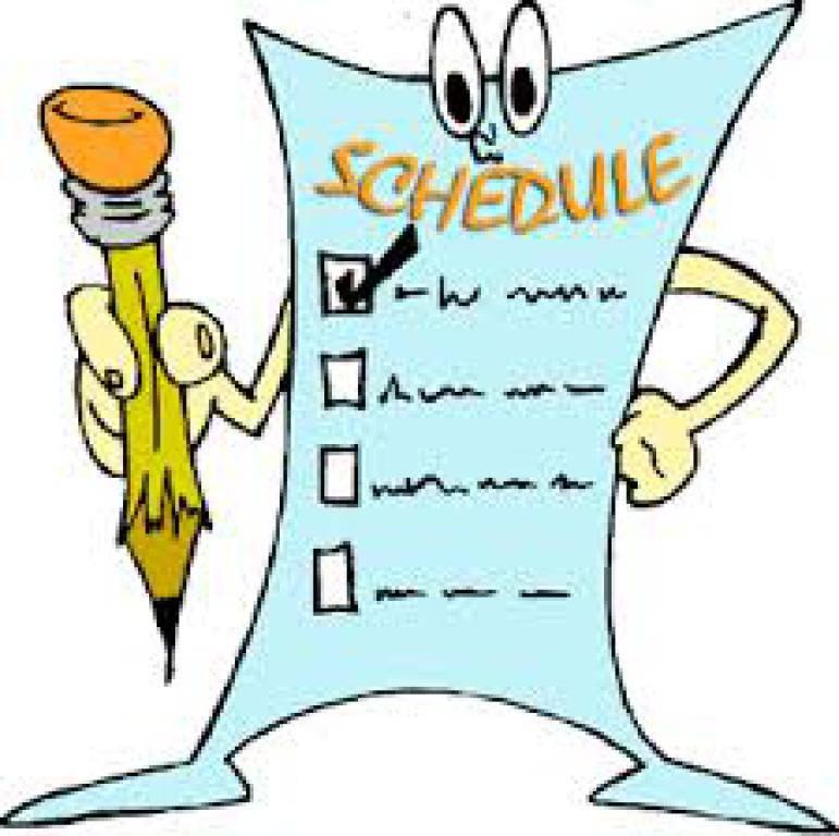 Clipart schedule vector transparent Schedule Clipart Free   Free download best Schedule Clipart Free on ... vector transparent