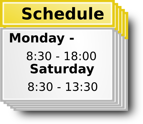 Clipart schedule picture royalty free download Free Schedule Cliparts, Download Free Clip Art, Free Clip Art on ... picture royalty free download