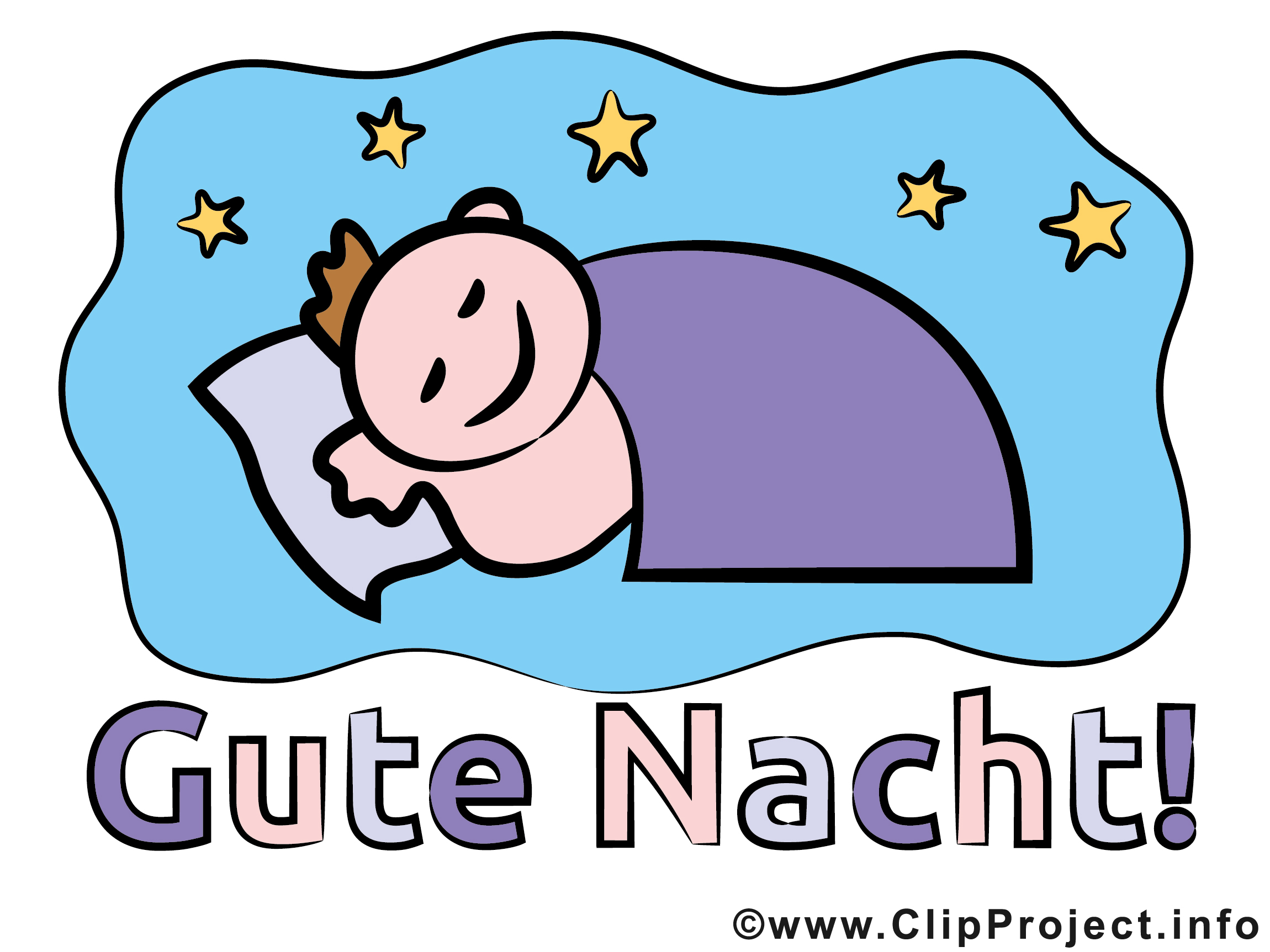 Clipart schlaf gut clipart transparent stock Gute Nacht Bilder, Cliparts, Cartoons, Grafiken, Illustrationen ... clipart transparent stock