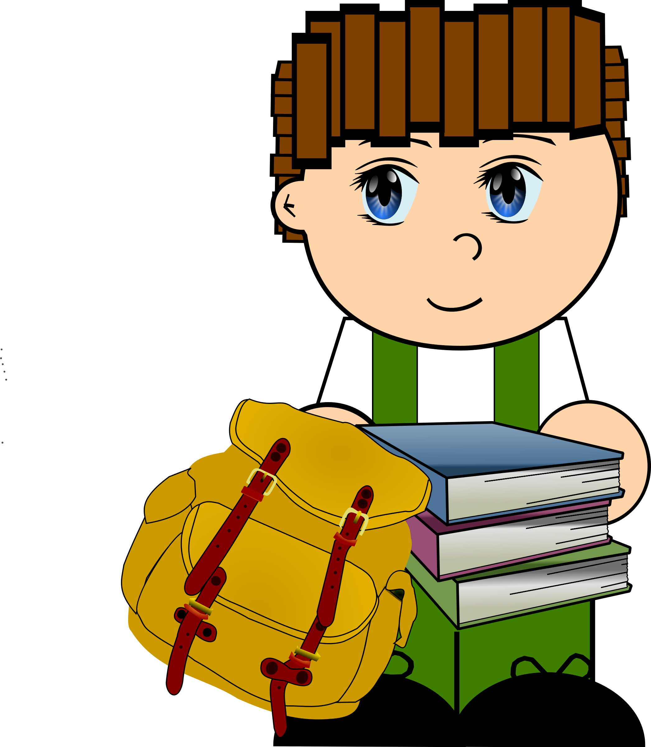 Clipart school boy picture royalty free download Clipart - Cartoon Schoolboy picture royalty free download