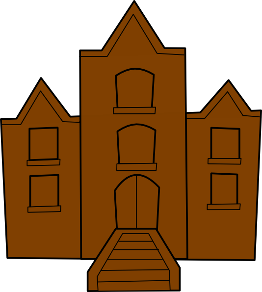 School clipart vector image transparent library School Building Clipart Free | Clipart Panda - Free Clipart Images image transparent library