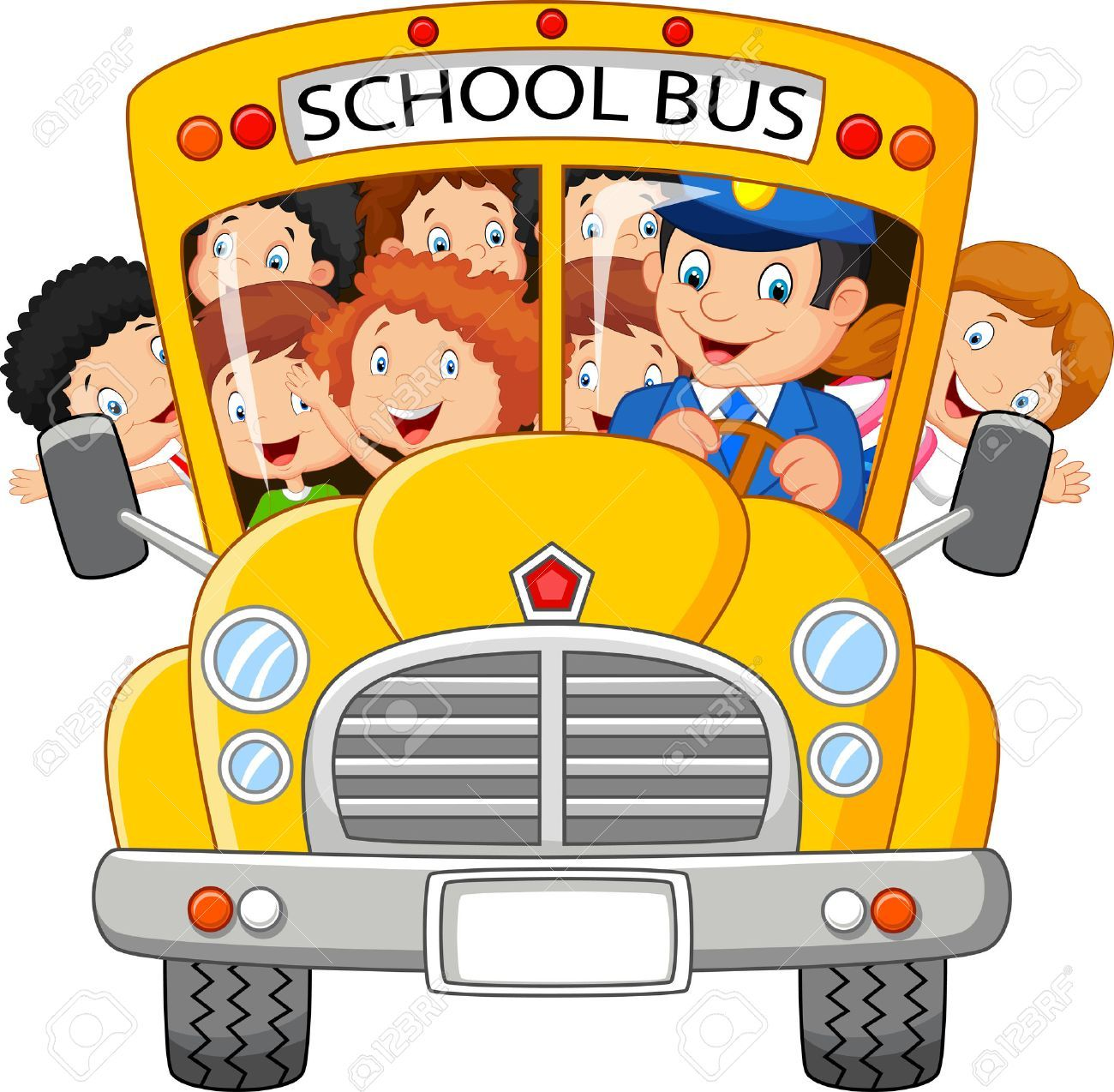 Clipart school bus pictures vector freeuse library Free animated clipart school bus 3 » Clipart Portal vector freeuse library